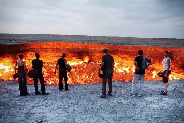 """Врата ада"" Туркменистан"