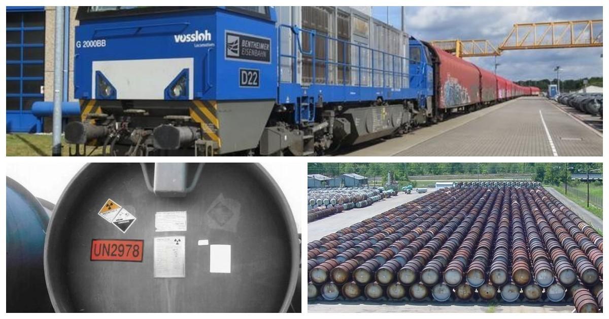 """""""Экозащита"""": Германия 22 июня отправила в Россию сотни тонн ядерных отходов"""