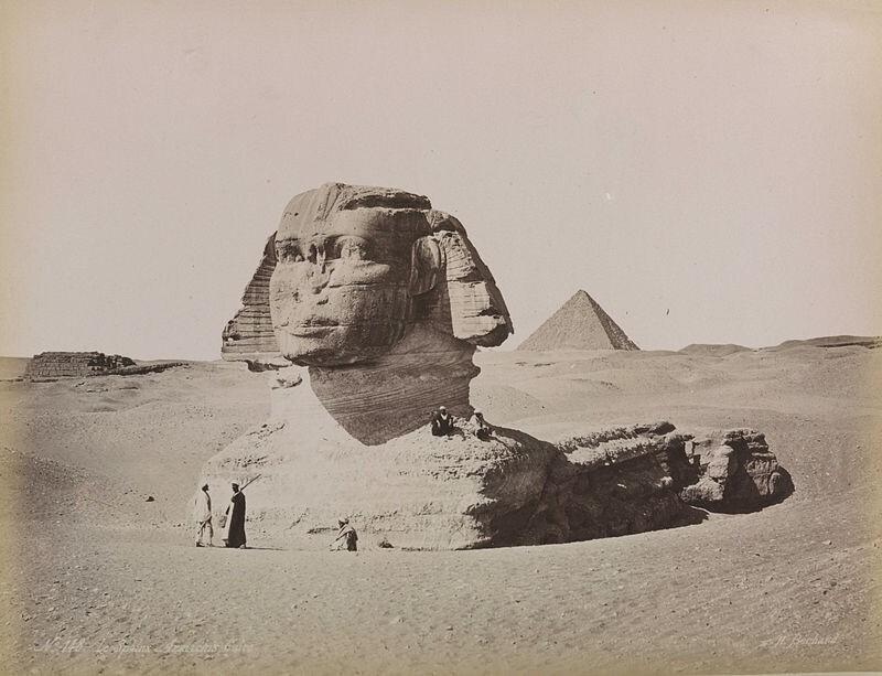 1. Большой сфинкс в 1870-х