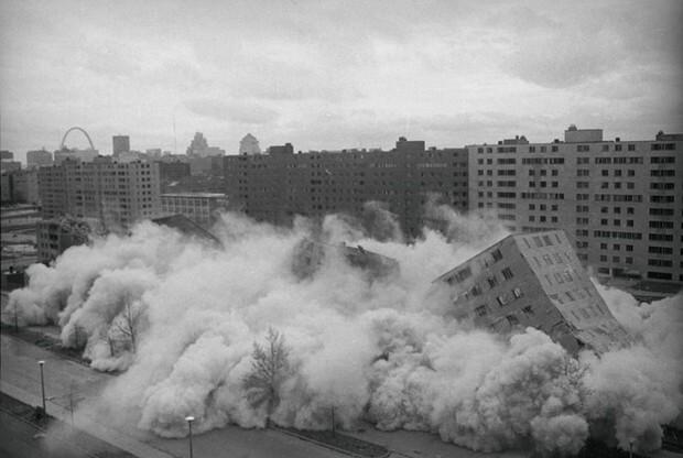 Поучительная история американского эксперимента с постройкой спального района в стиле СССР