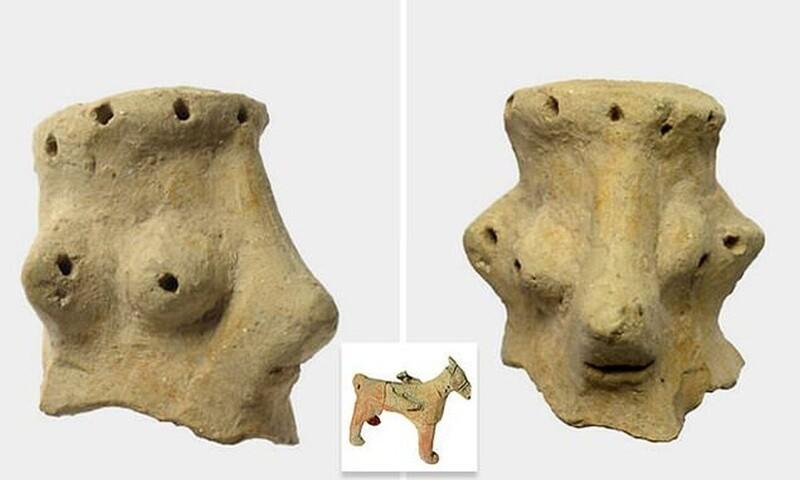 ВИзраиле нашли статуэтки, которые могут быть изображением бога Яхве