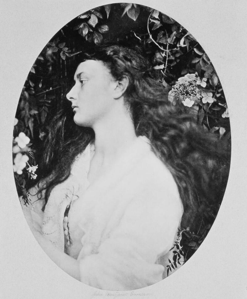 20-летняя Алиса, фотограф Джулия Кэмерон, 1872 г.