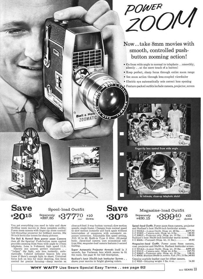 Камера 8 мм - $207,70