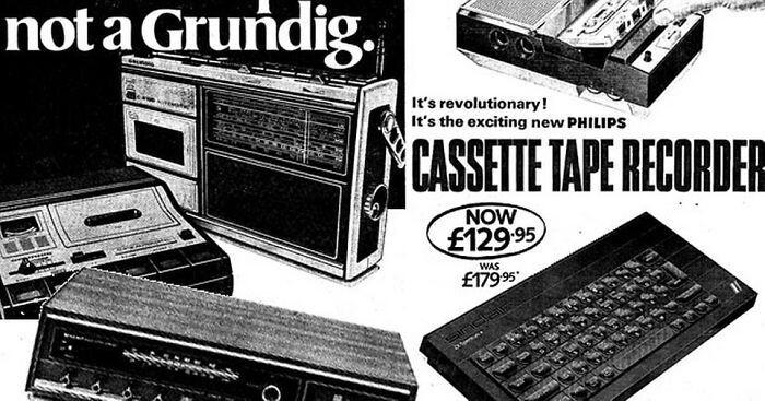 Записывающий кассетный магнитофон - $166