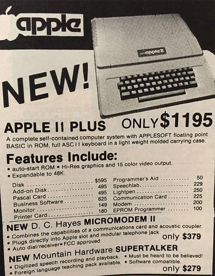 Apple LI - $1195