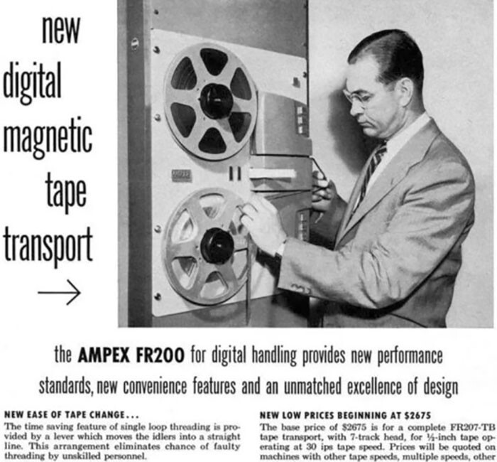 Звукозаписывающий аппарат - $2675