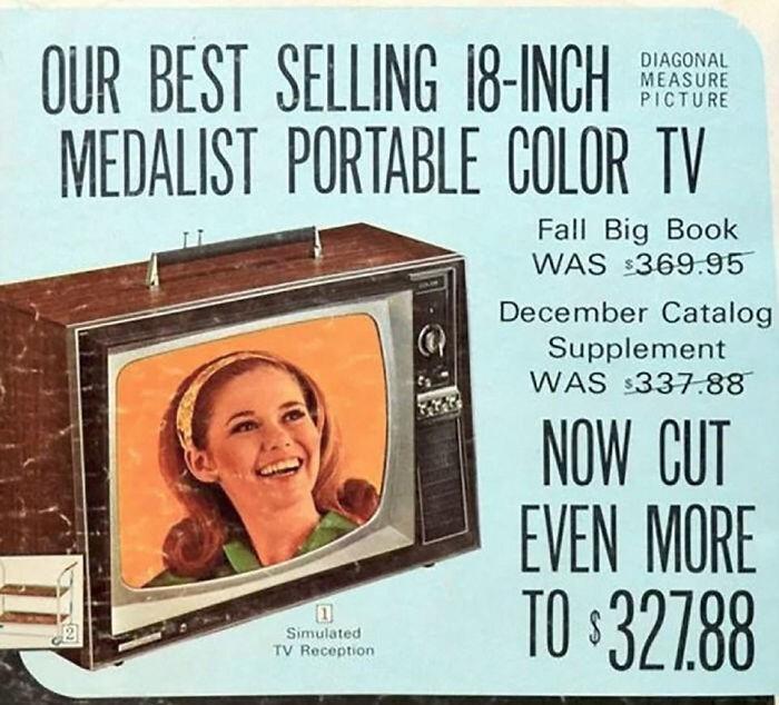 Цветной телевизор - $327,88