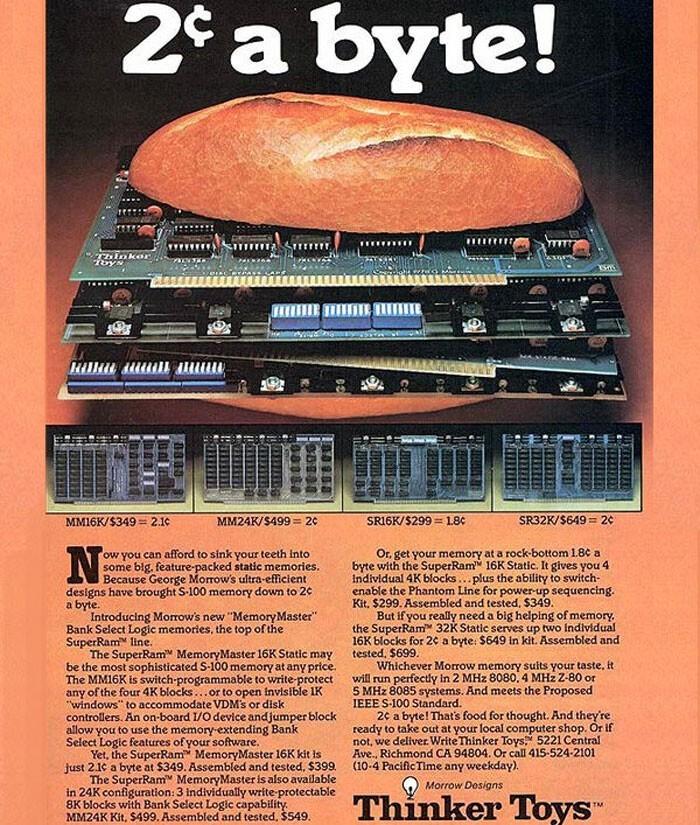 Оперативная память 16 КБ - $299