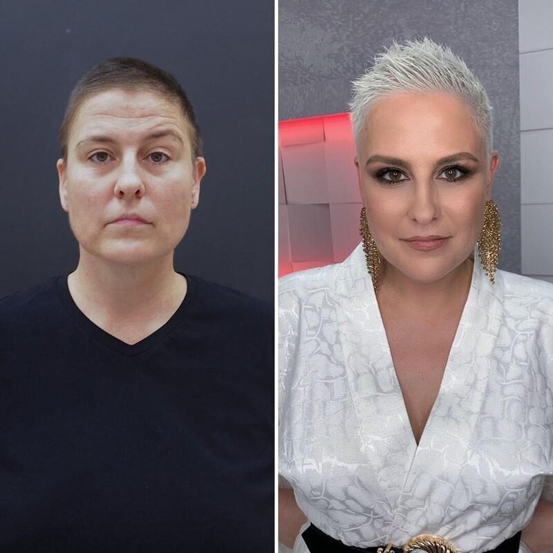 Чудеса макияжа: 20 женщин до и после