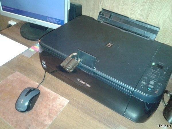 Самое чёрное место в офисе: приключения возле принтера