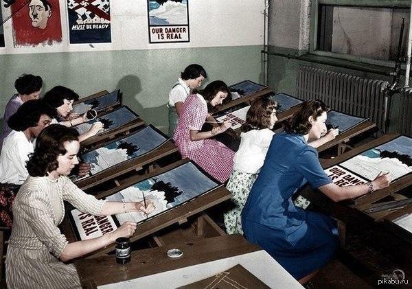 Как работал принтер в 40-х годах