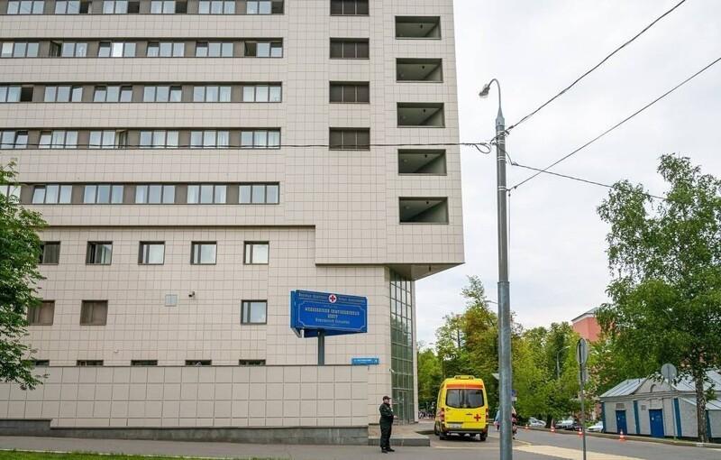 Здание больницы им. С.П. Боткина