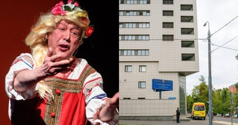 Михаил Ефремов исчез из больницы