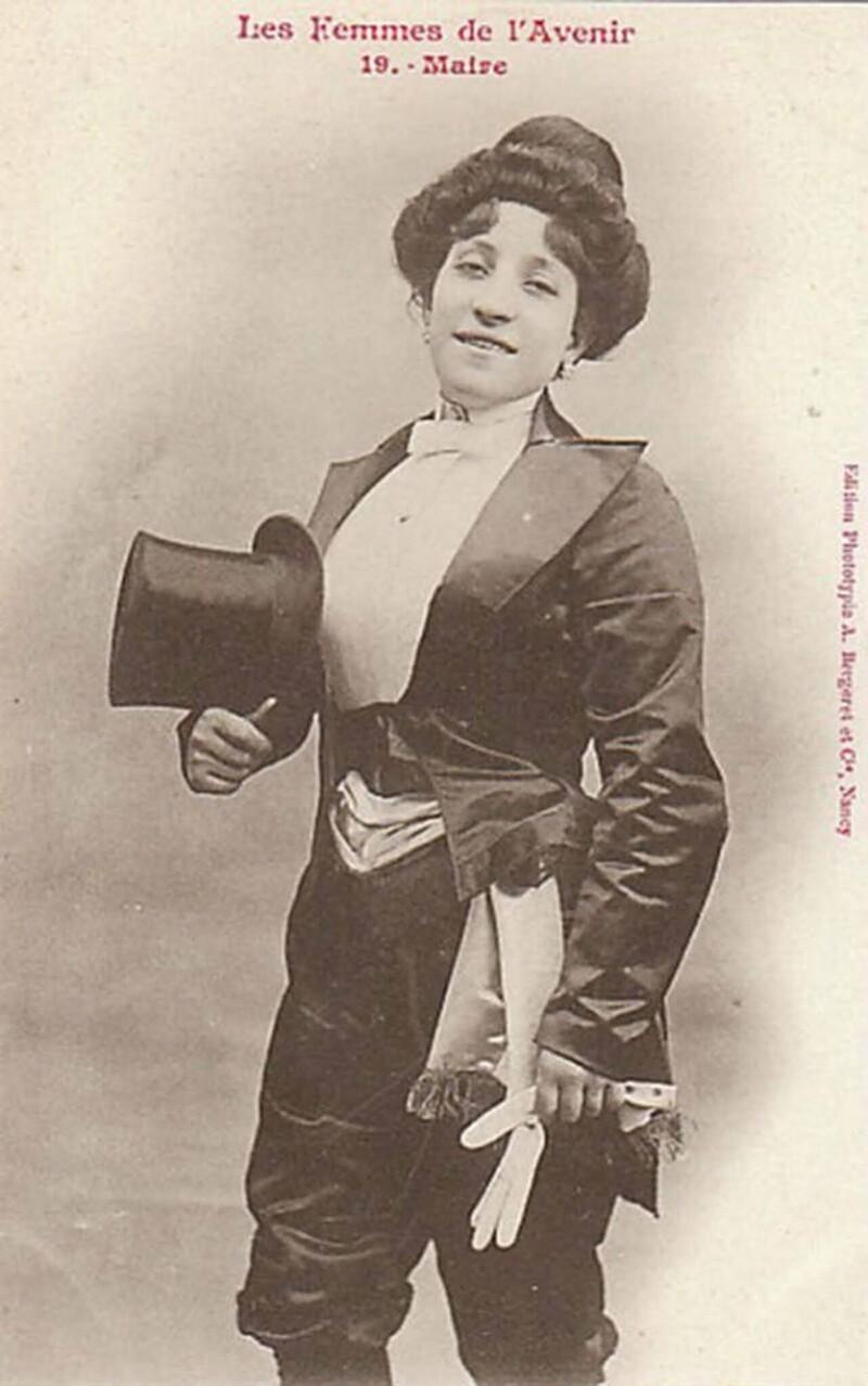 7. Мэр. Женщинам во Франции не разрешалось занимать госдолжности до 1944 года
