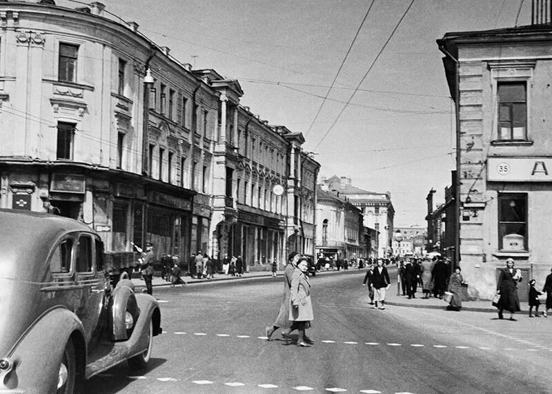 Отчёт поМоскве гитлеровца, побывавшему внейв1935 году. 2часть