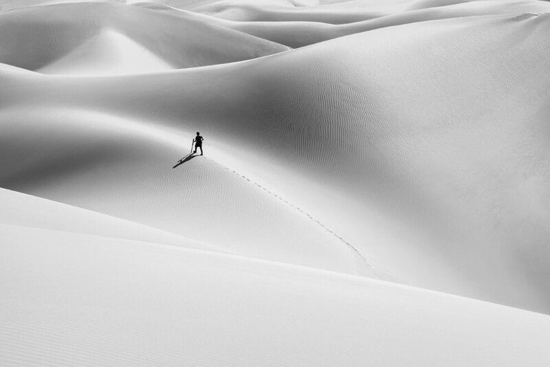 Тень пустыни. @hamid_jamshidian