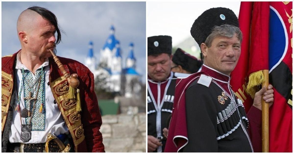 Чемотличаются русские казаки отукраинских