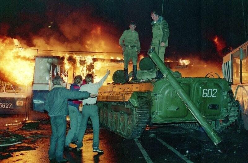 Москва, Август 1991 года