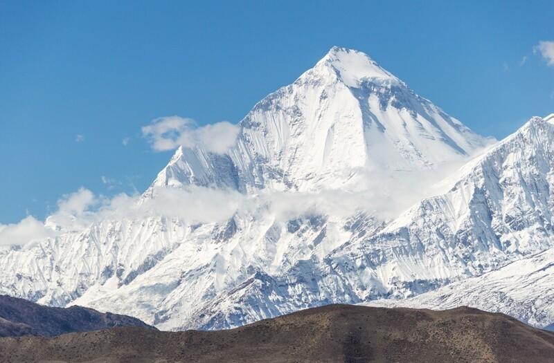 №7. Дхаулагири I (Гималаи) - 8167 метров.