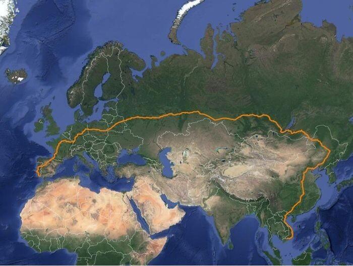 Карты, которые покажут вам мир с неожиданной стороны