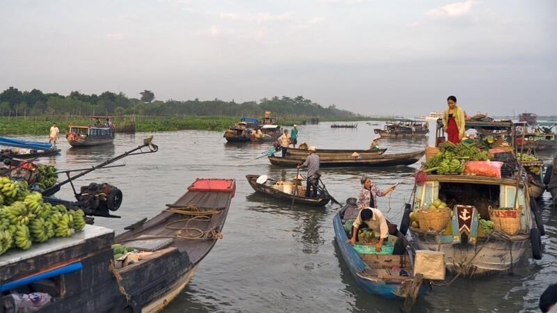 Река Меконг – удивительное место на земле