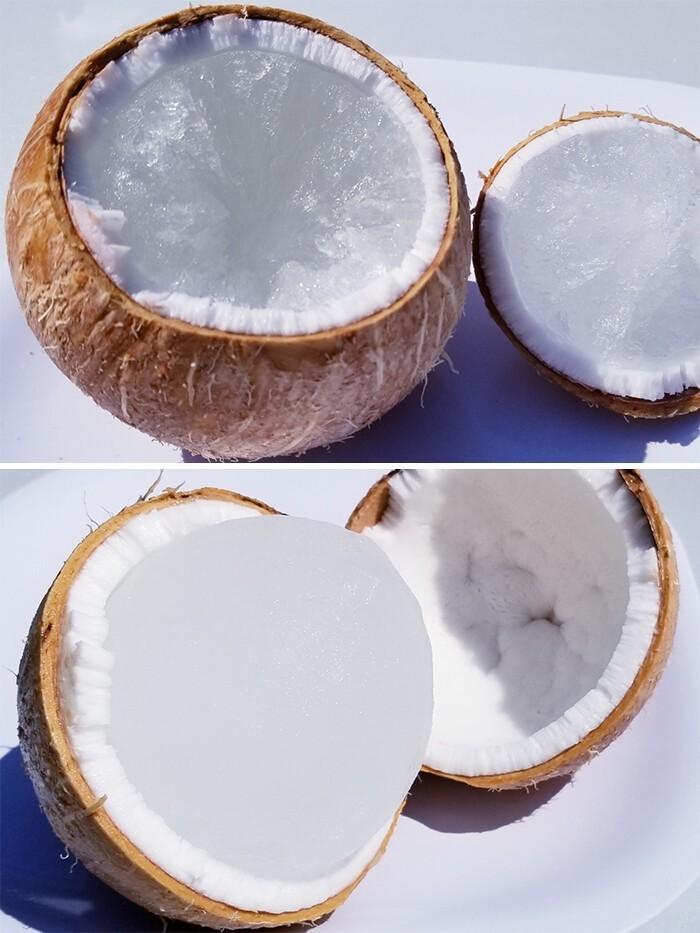 6. Что произойдет, если оставить кокос в морозилке