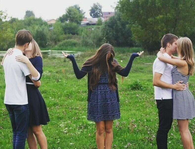 4. Одинокие девушки и их ситуации