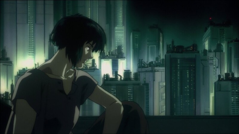 3. Ghost in the Shell («Призрак в доспехах»), 1995