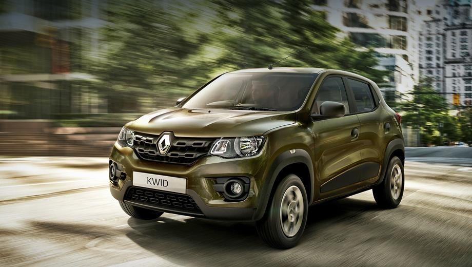 Франция: Renault KWID от 258 988 тысяч рублей