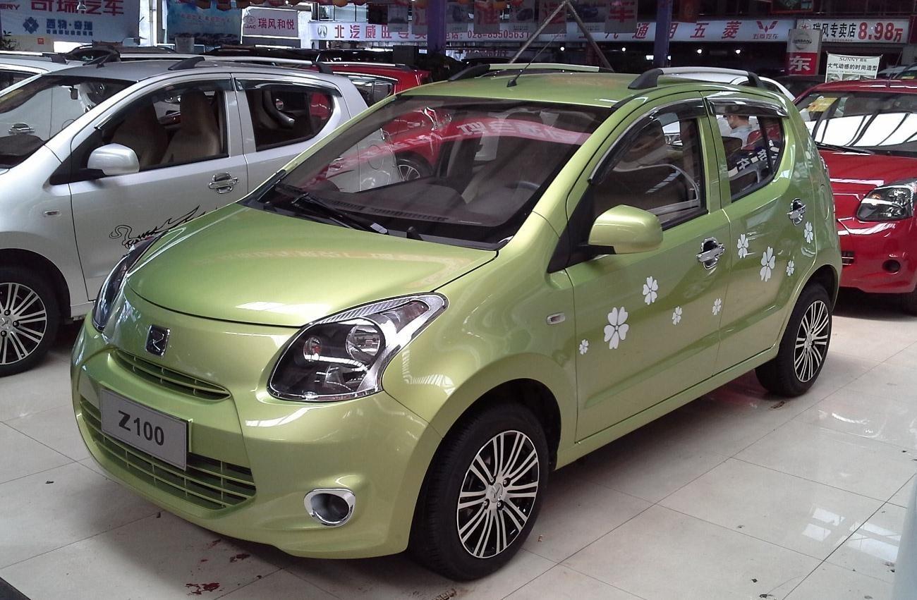 Zotye Z100, производитель: Китай; цена около 280.000 рублей