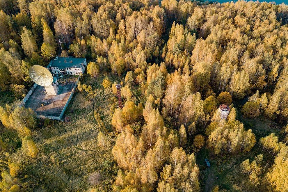Заброшенная обсерватория на Волге, где искали сигналы внеземных цивилизаций