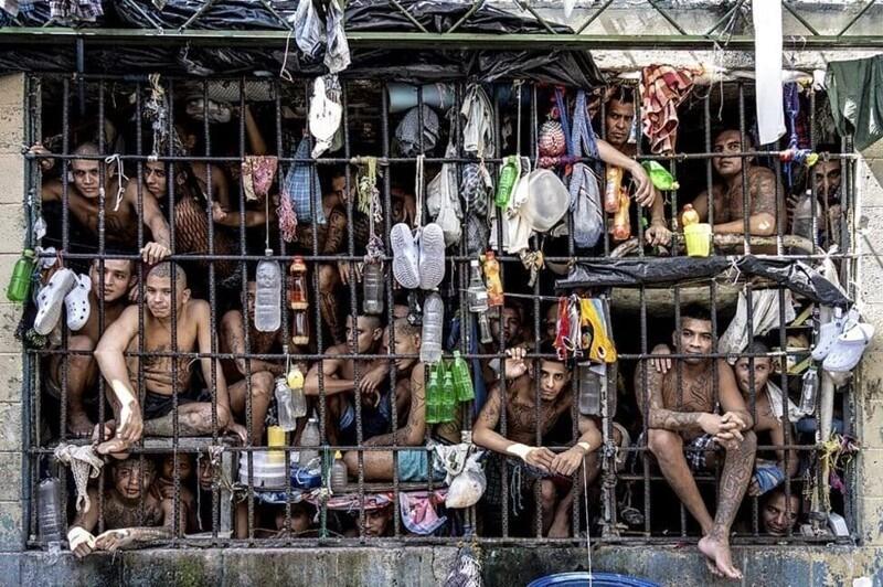 7. Тюремная камера в Сальвадоре