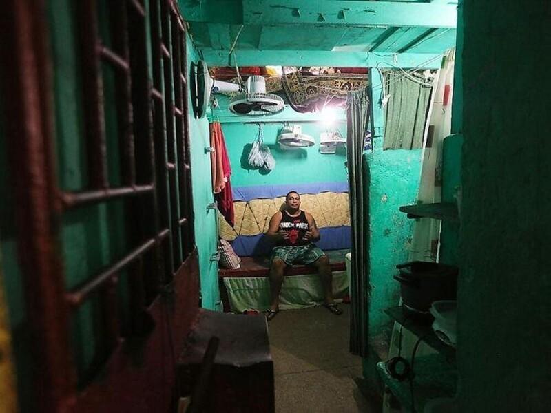 11. Тюремная камера в городе Манаус, Бразилия