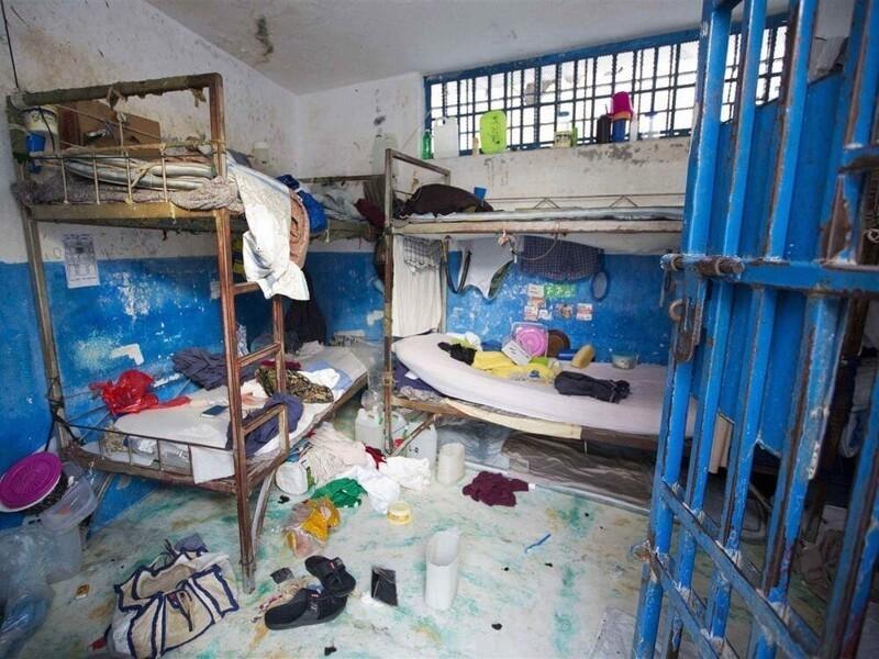 2. Камера в гражданской тюрьме Республики Гаити