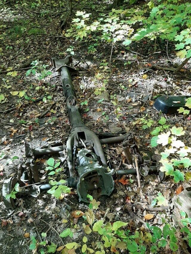 12. «Штука с колёсами, которую я нашёл в лесу»