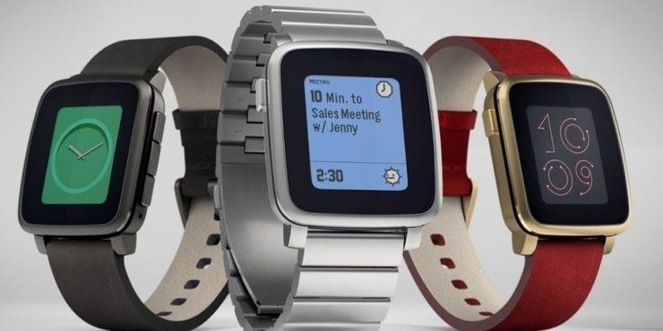 1. Умные часы Pebble Time — 20,4 миллиона долларов