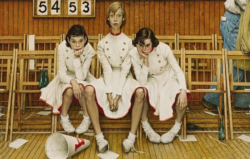 Ироничные иллюстрации Нормана Роквелла