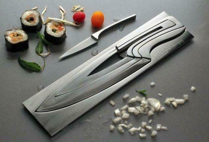 Компактный набор ножей