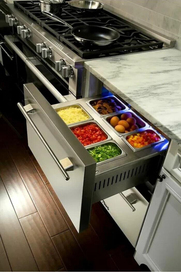 Кухонный ящик-холодильник