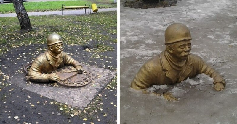 14. Памятник работникам ЖЭКа, Набережные Челны