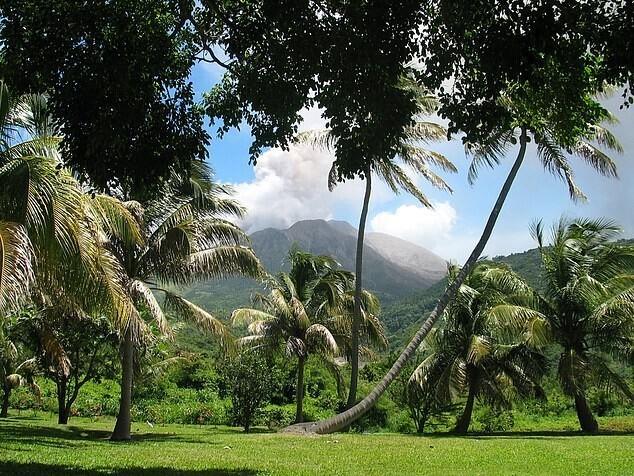 На Карибах проснулись вулканы