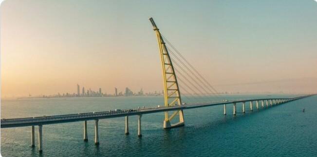 29. Один из самых длинных мостов в мире находится в Кувейте