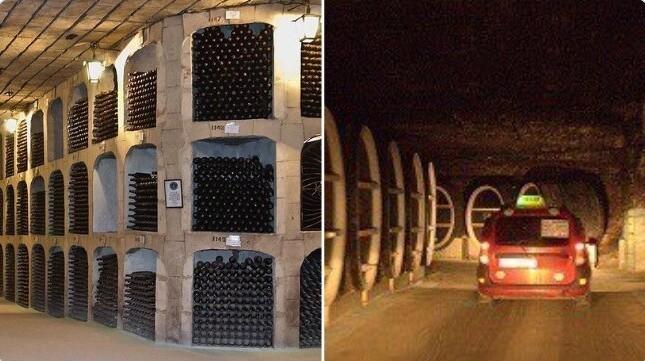19. Самая большая коллекция вин (согласно Книге рекордов Гиннесса) находится в Молдавии - более миллиона бутылок