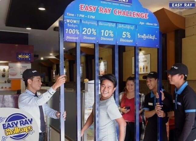 22. В Мьянме есть ресторан, который предлагает посетителям скидку на основании их габаритов. Дистрофикам - скидка 100 процентов