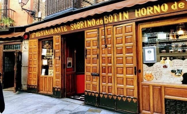 """3. В Испании есть ресторан """"Собрино де Ботин"""", который был открыт в 1725 году и с тех пор не закрывался. В нем работал официантом Франсиско де Гойя"""