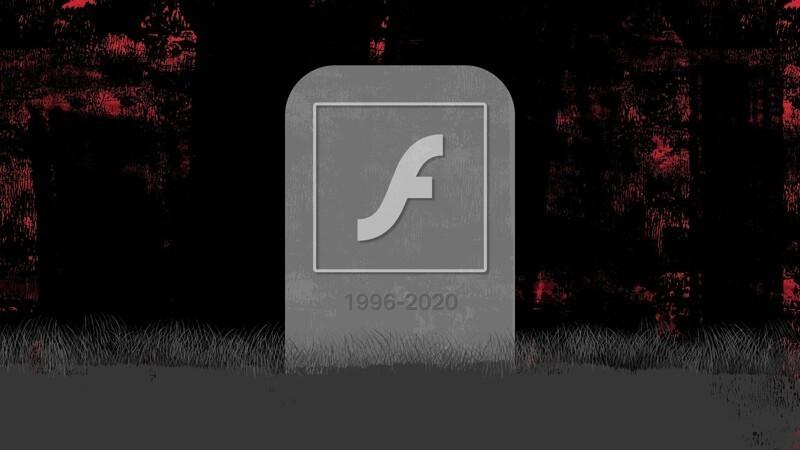Adobe Flash Player 1996-2020