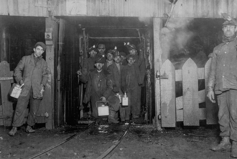 Дети шахтеры 1908-1911 гг