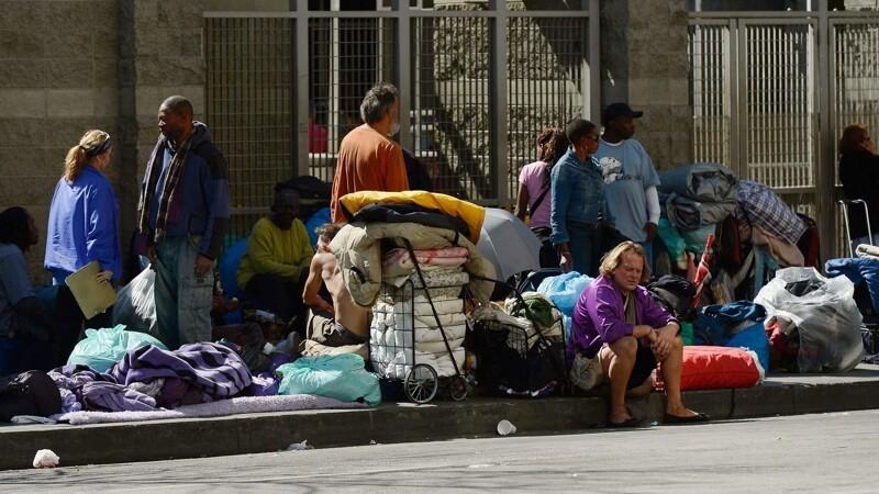 9. Бездомные