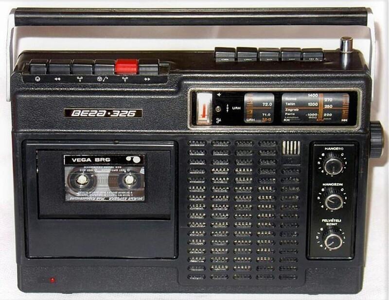 8кассетных магнитол изСССР 1970-х