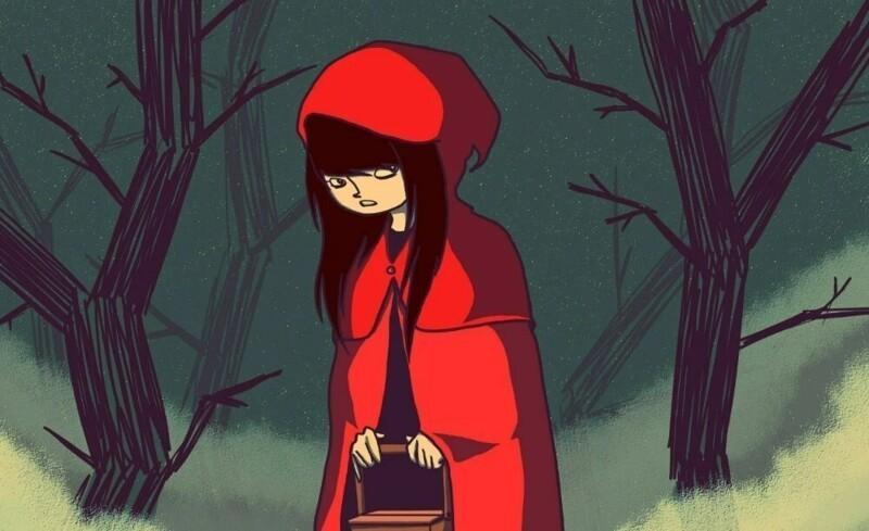 Почему Красную Шапочку наЗападе всегда рисуют вкапюшоне?